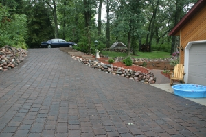 Finished permeable drive 2